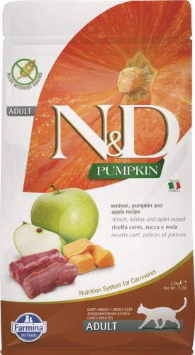 N&D Cat GF Pumpkin Venison